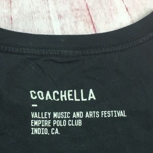 coachella Tops - 💙Coachella Black T-Shirt size Small